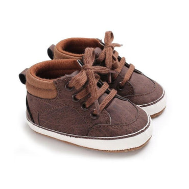 Brown Anti Slip Leather Shoes