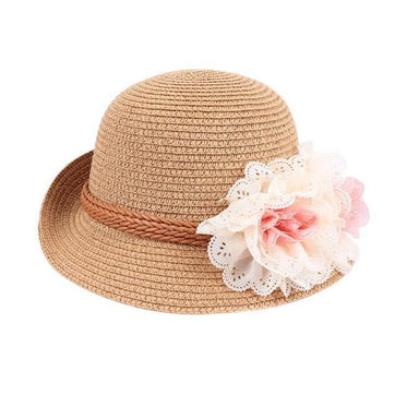 Baby Girl Floral Hat - The Trendy Toddlers