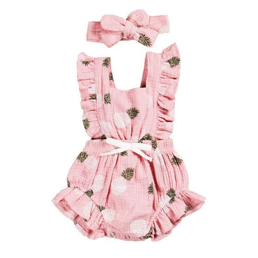 Pink Pineapple Romper
