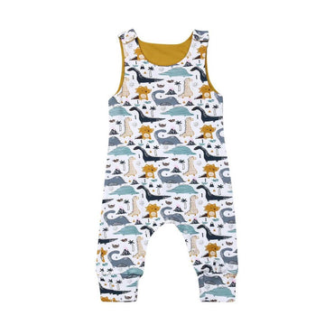 Dino Sleeveless Jumpsuit