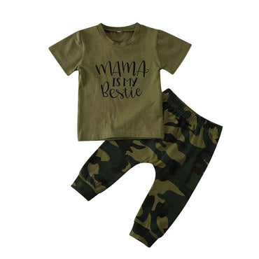 Bestie Mama Camo Set - The Trendy Toddlers