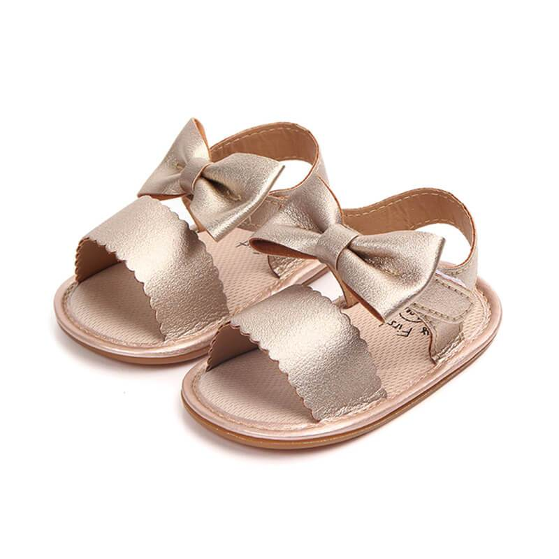 Princess Bowknot Sandals - The Trendy Toddlers