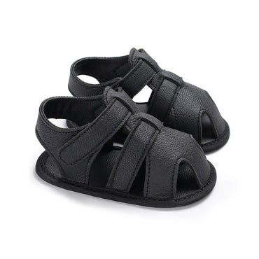 Solid Leather Sandals
