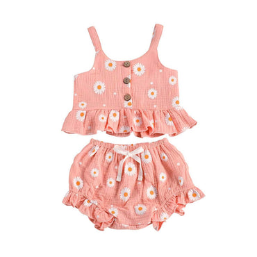 Daisy Ruffled Set