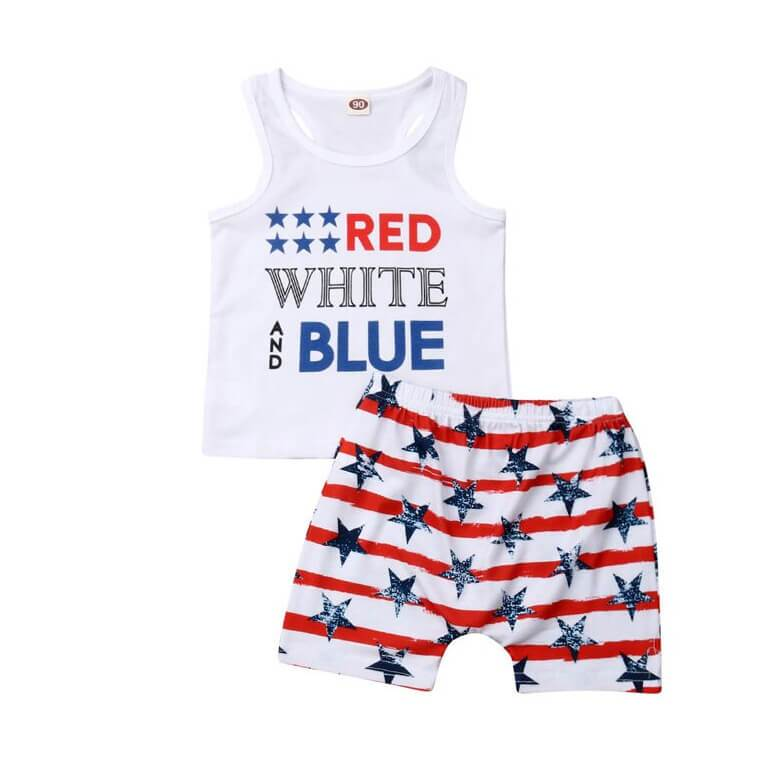 Red White and Blue Set