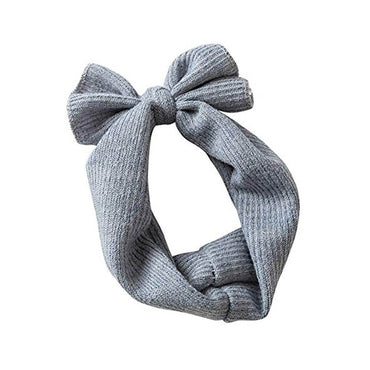 Knit Bow Headband
