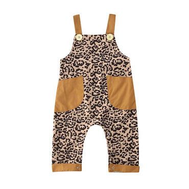 Leopard Pocket Jumpsuit