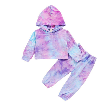Tie Dye Hooded Set