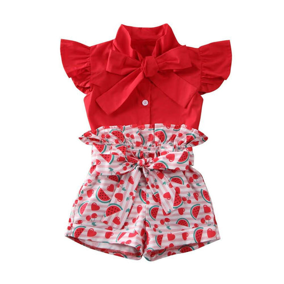 Red Watermelon Set - The Trendy Toddlers