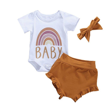 Rainbow Brown Set