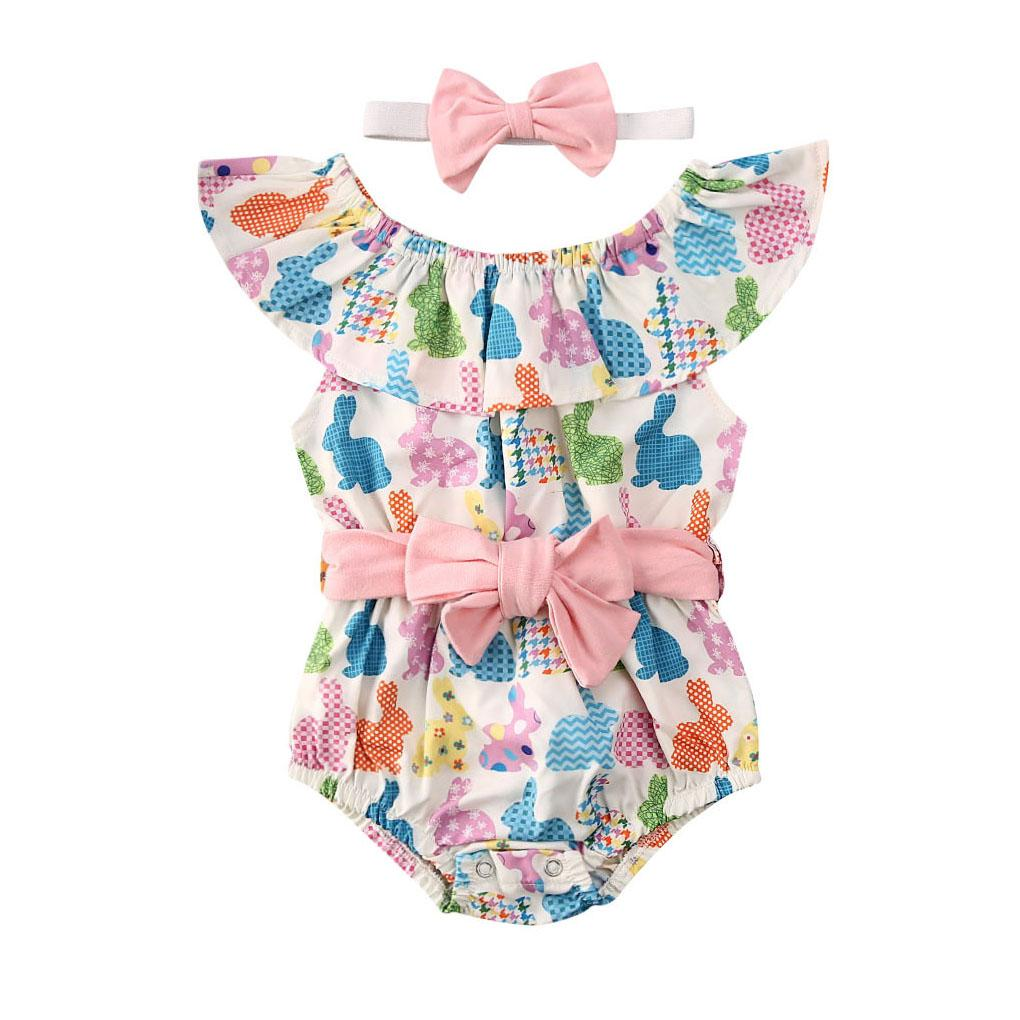 Colorful Easter Romper