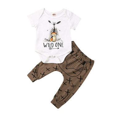 Wild One Fox Set - The Trendy Toddlers
