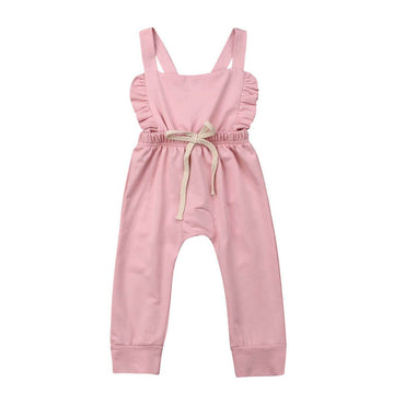 Pink Flutter Jumpsuit - The Trendy Toddlers