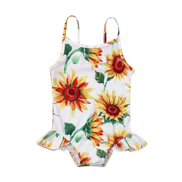 Sunflower Swimsuit - The Trendy Toddlers