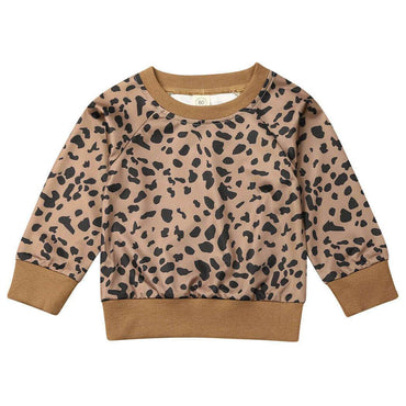 Brown Leopard Sweatshirt