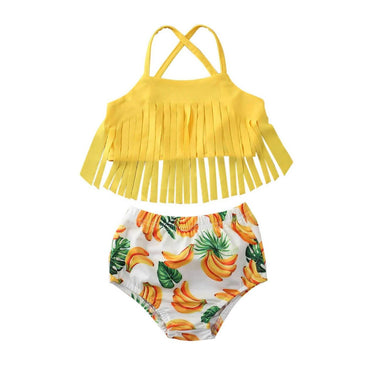 Banana Tassel Swimsuit