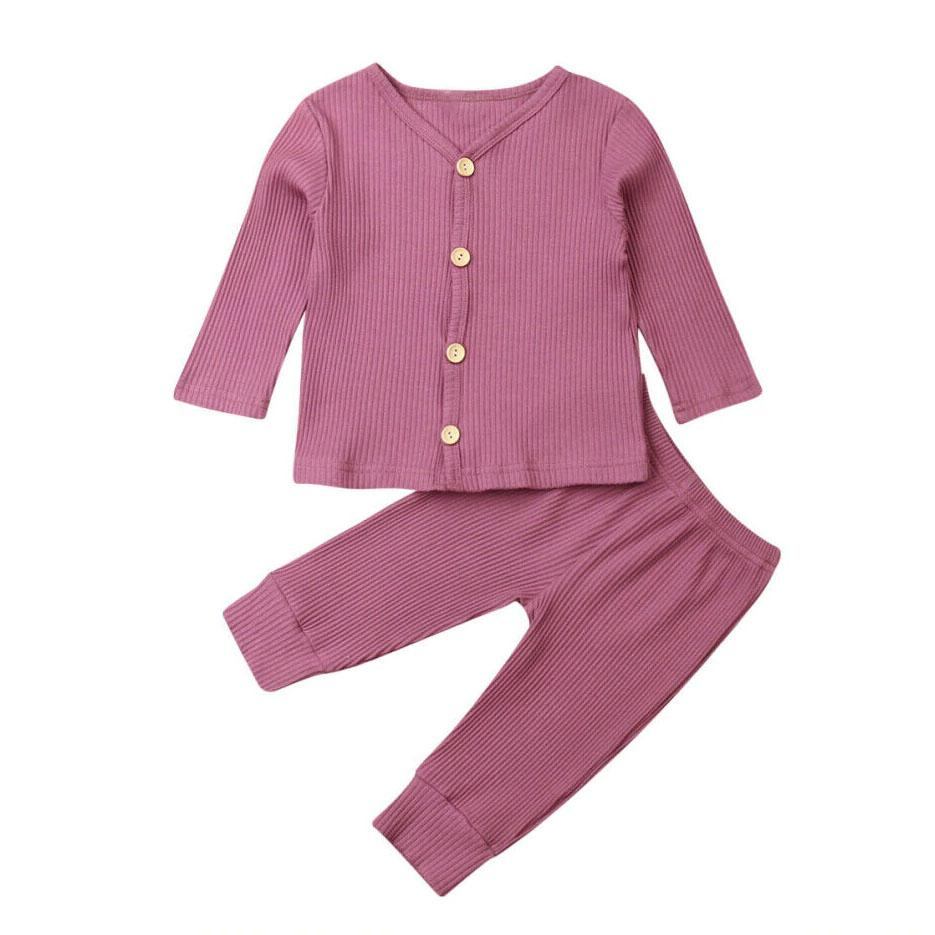 Solid Cardigan Set - The Trendy Toddlers