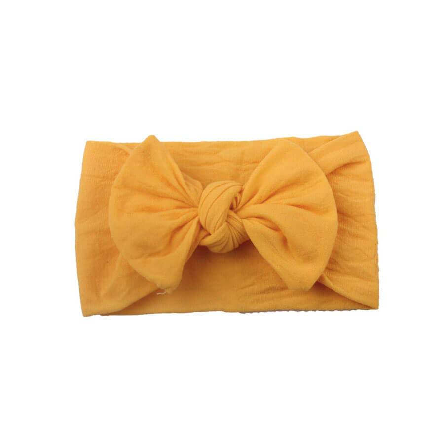 Solid Bow Headband - The Trendy Toddlers
