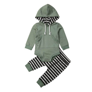 Striped Joggers Set - The Trendy Toddlers