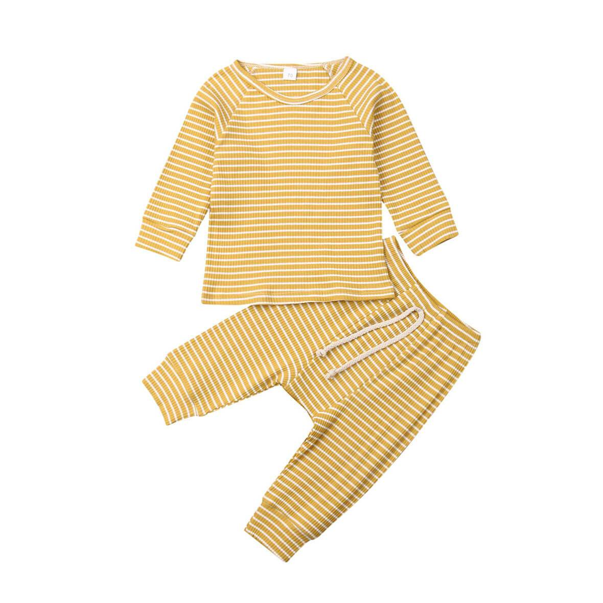 Striped Tracksuit Set - The Trendy Toddlers