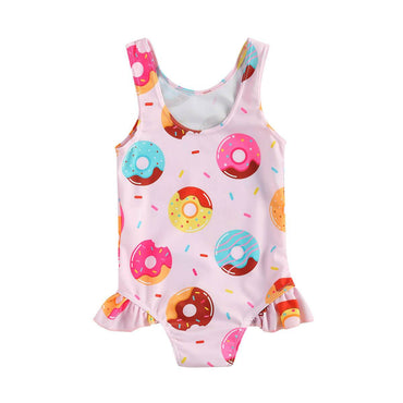 Sleeveless Donut Swimsuit