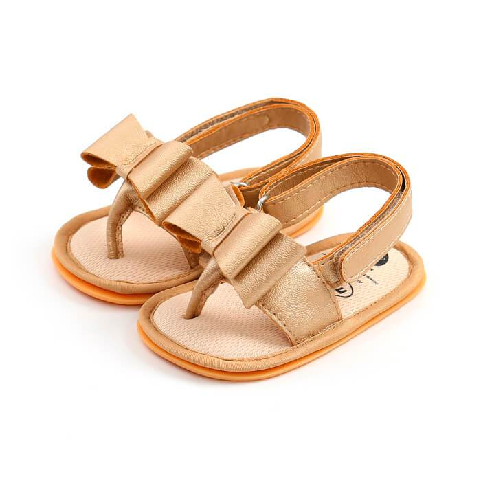 Solid Butterfly Sandals