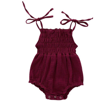 Ruffle Straps Romper - The Trendy Toddlers