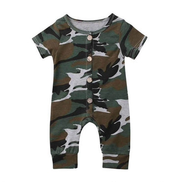 Camo Jumpsuit - The Trendy Toddlers
