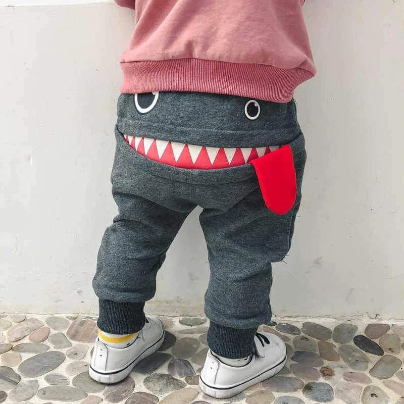 Gray Monster Pants