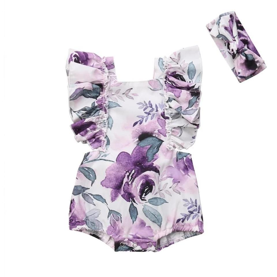 Watercolour Romper - The Trendy Toddlers