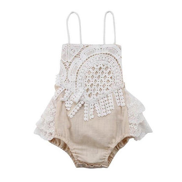 Backless Vintage Romper - The Trendy Toddlers