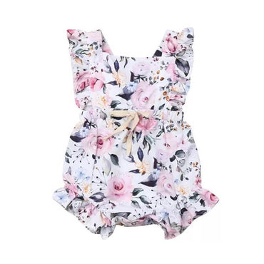 Floral Perfection Romper - The Trendy Toddlers