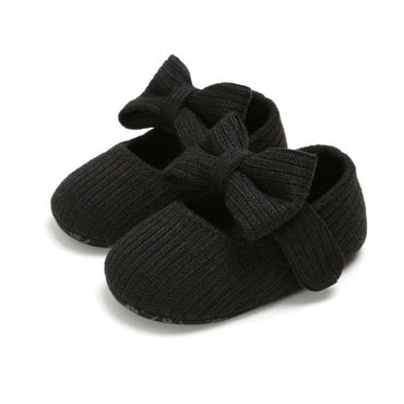 Solid Bow Shoes - The Trendy Toddlers