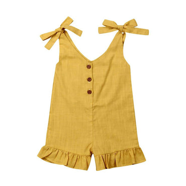 Solid Boho Romper - The Trendy Toddlers