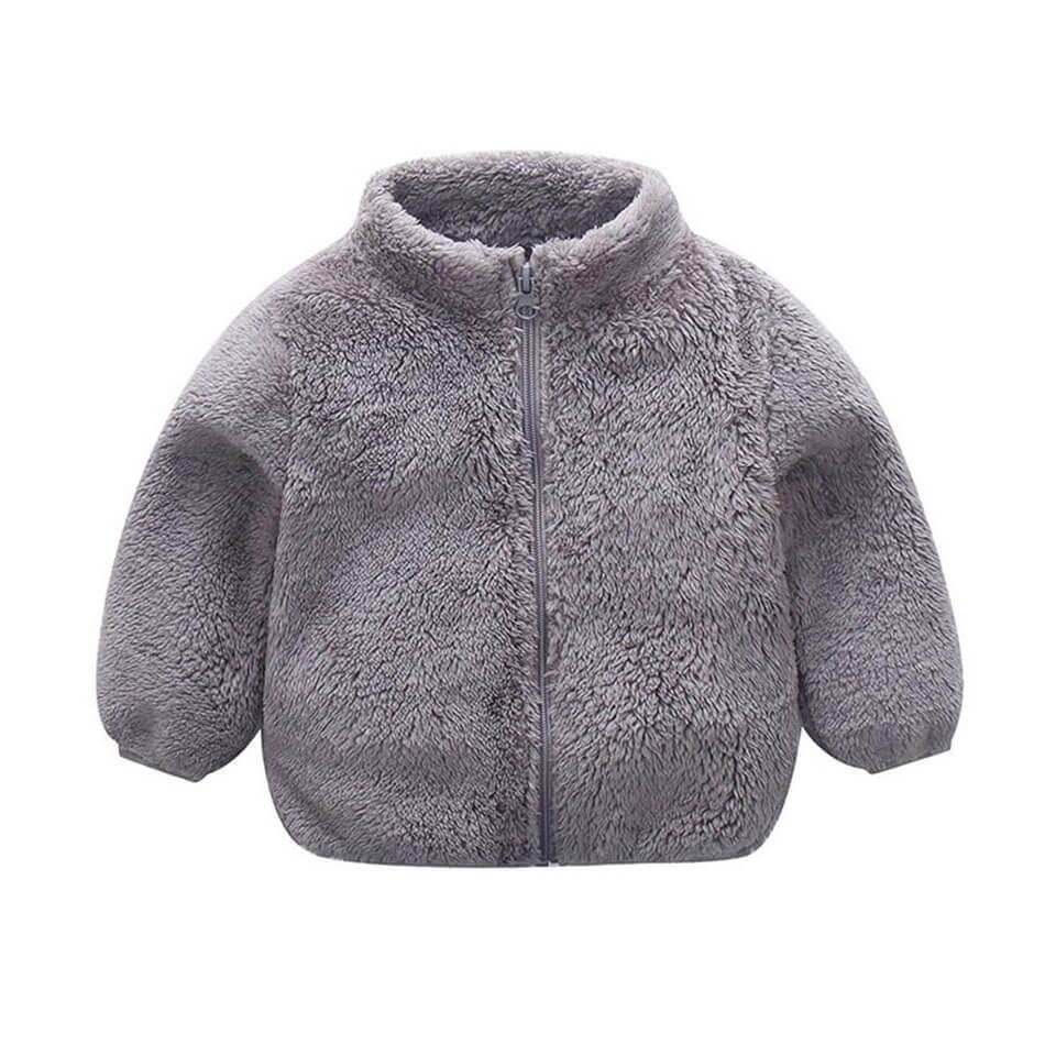 Zipper Wool Jacket - The Trendy Toddlers