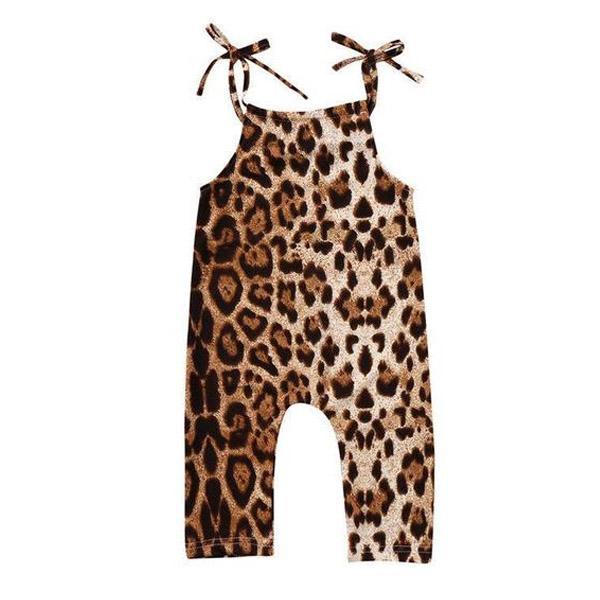 Leopard Jumpsuit - The Trendy Toddlers