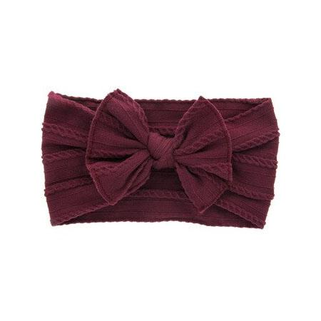 Bow Solid Headband - The Trendy Toddlers