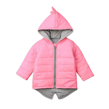 Pink Dino Zipper Jacket