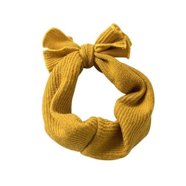 Knit Bow Headband - The Trendy Toddlers