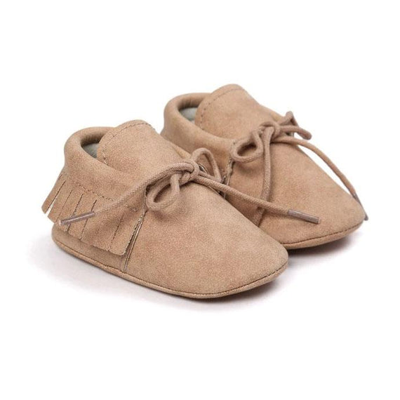 Princess Leather Moccasins