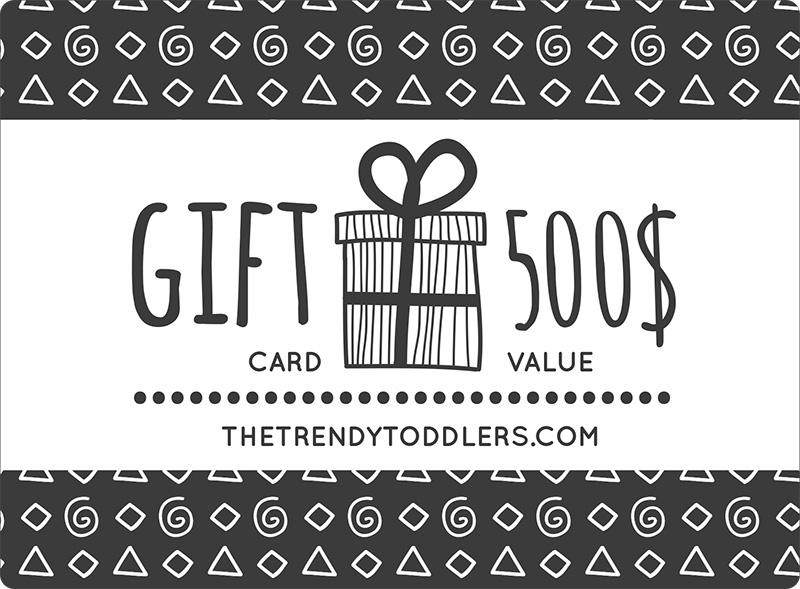 The Trendy Toddlers Gift Card - The Trendy Toddlers