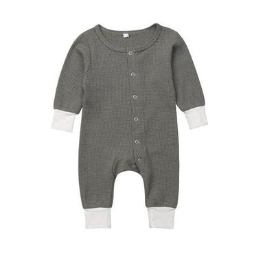 Front Snaps Jumpsuit - The Trendy Toddlers