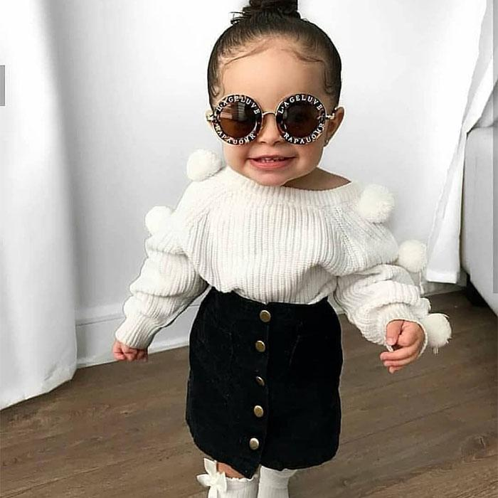 Pom Pom Sweater Set - The Trendy Toddlers