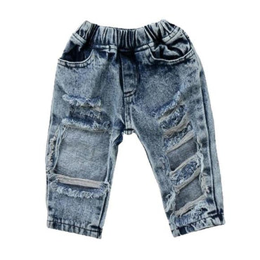 Acid Wash Ripped Jeans - The Trendy Toddlers
