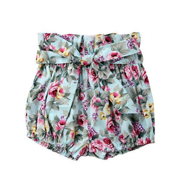 Floral Bloomer Shorts - The Trendy Toddlers