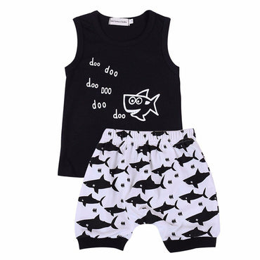 Black Shark Set - The Trendy Toddlers