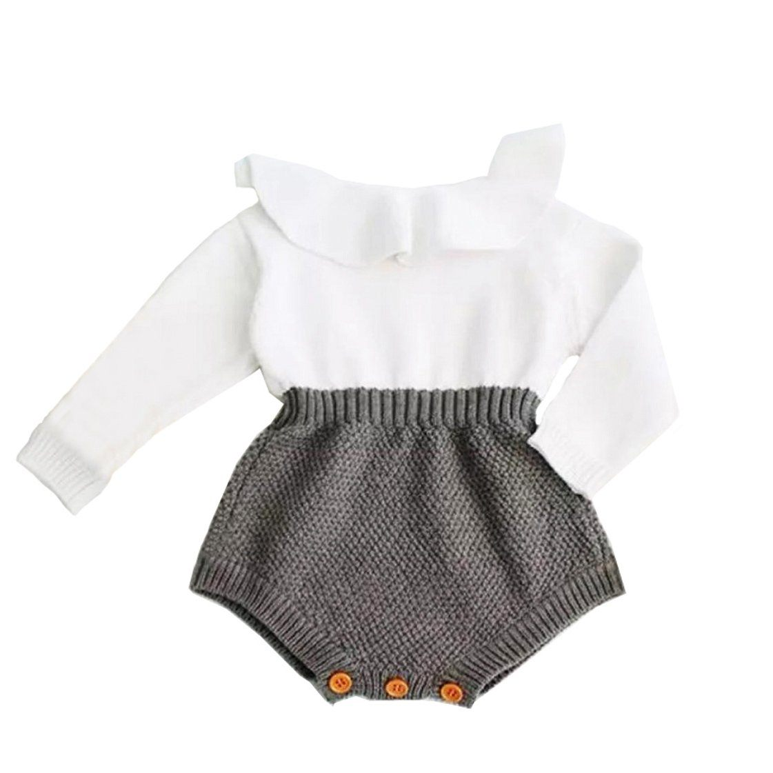 Baby Girl Knitted Sweater Romper The Trendy Toddlers