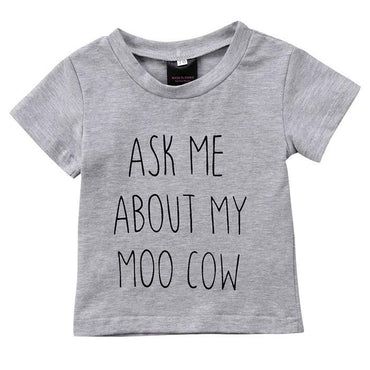 My Moo Cow Tee - The Trendy Toddlers