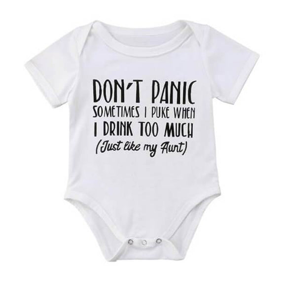 Don't Panic Bodysuit - The Trendy Toddlers