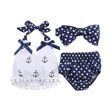 Anchor Polka Dot Set - The Trendy Toddlers